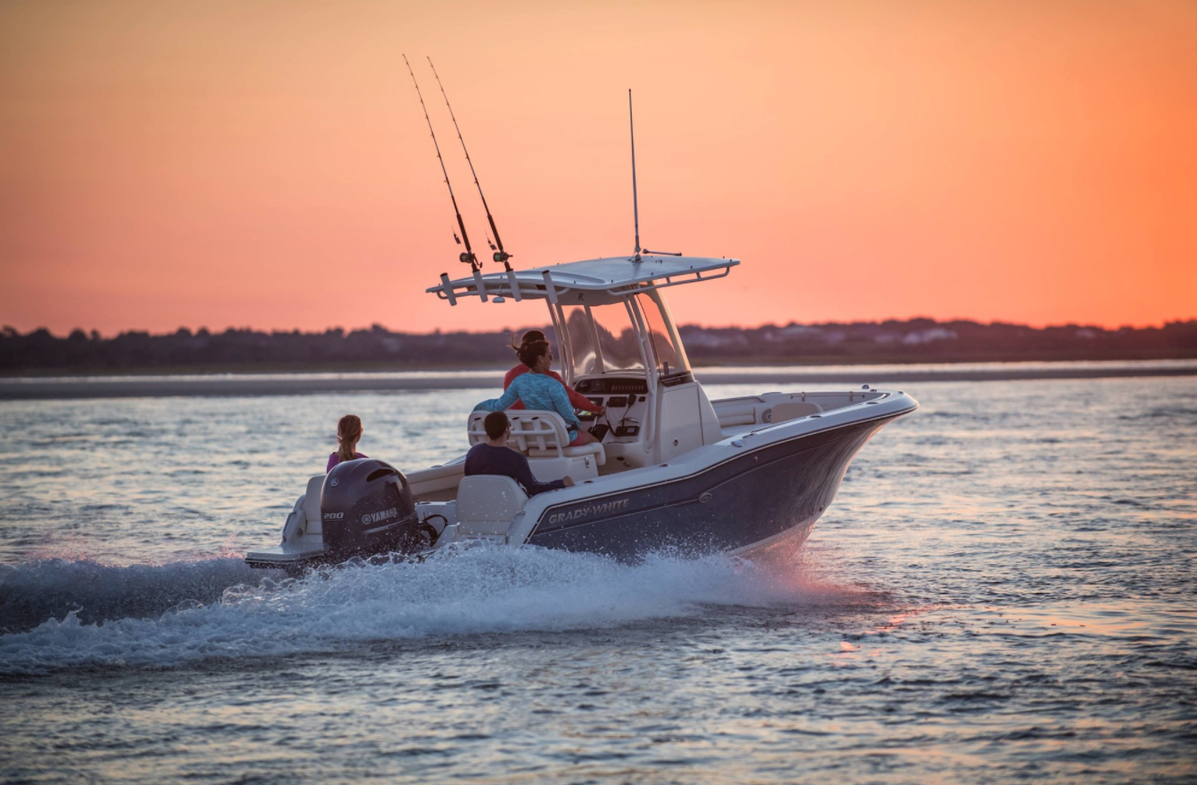 21' Grady-White 216 Fisherman